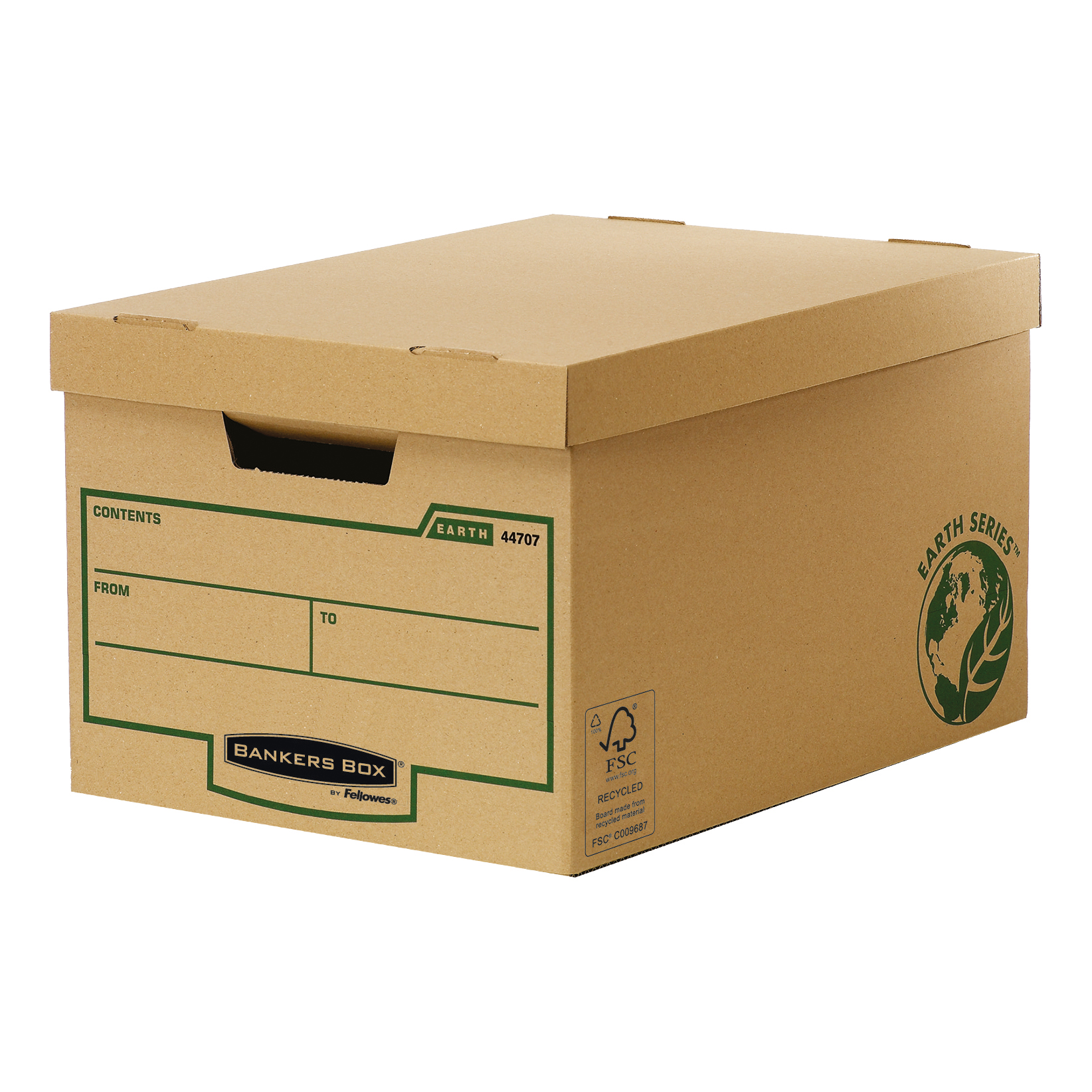Fellowes Bankers Box Earth Series Standard Storage Box FSC Ref 4470601 Pack 10
