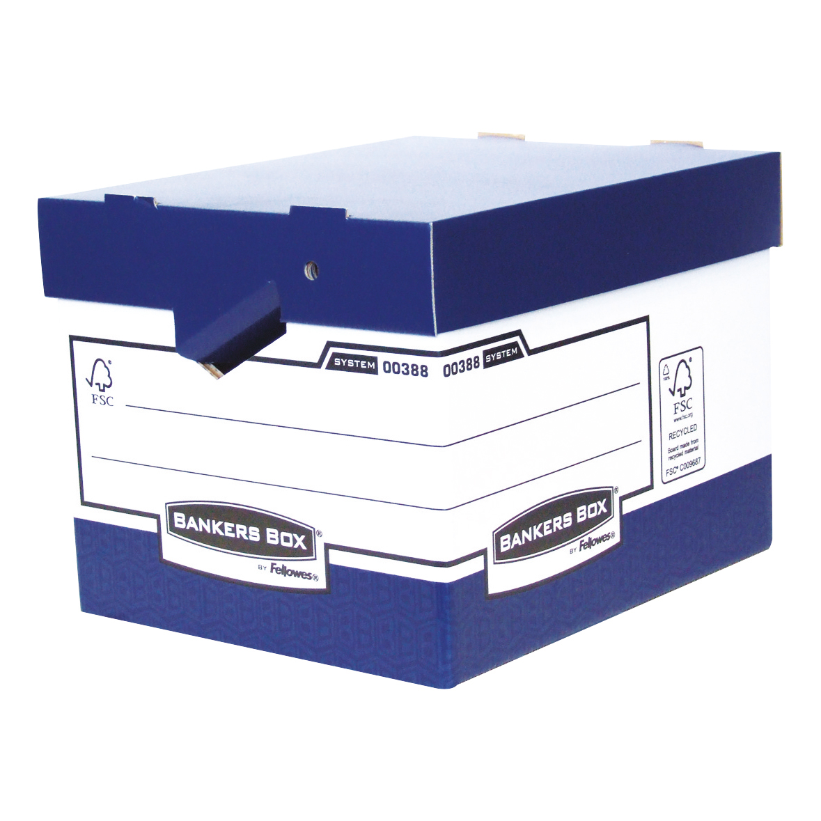 Bankers Box by Fellowes Ergo Stor Heavy Duty FastFold FSC Ref 38801 [Pack 10]