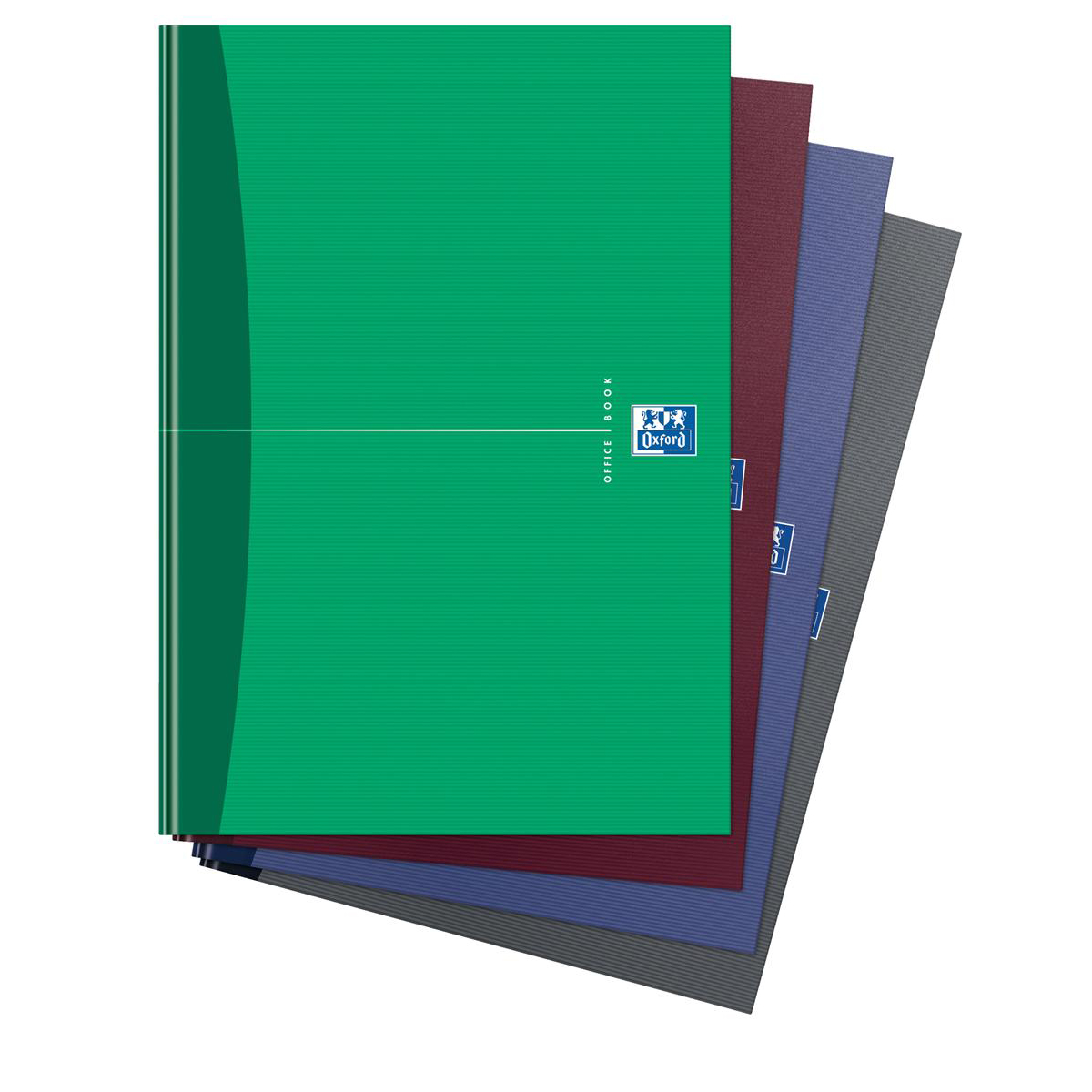 Oxford Office Nbk Casebound Hard Cover 90gsm Smart Ruled 192pp A4 Assorted Colour Ref 100105005 Pack 5