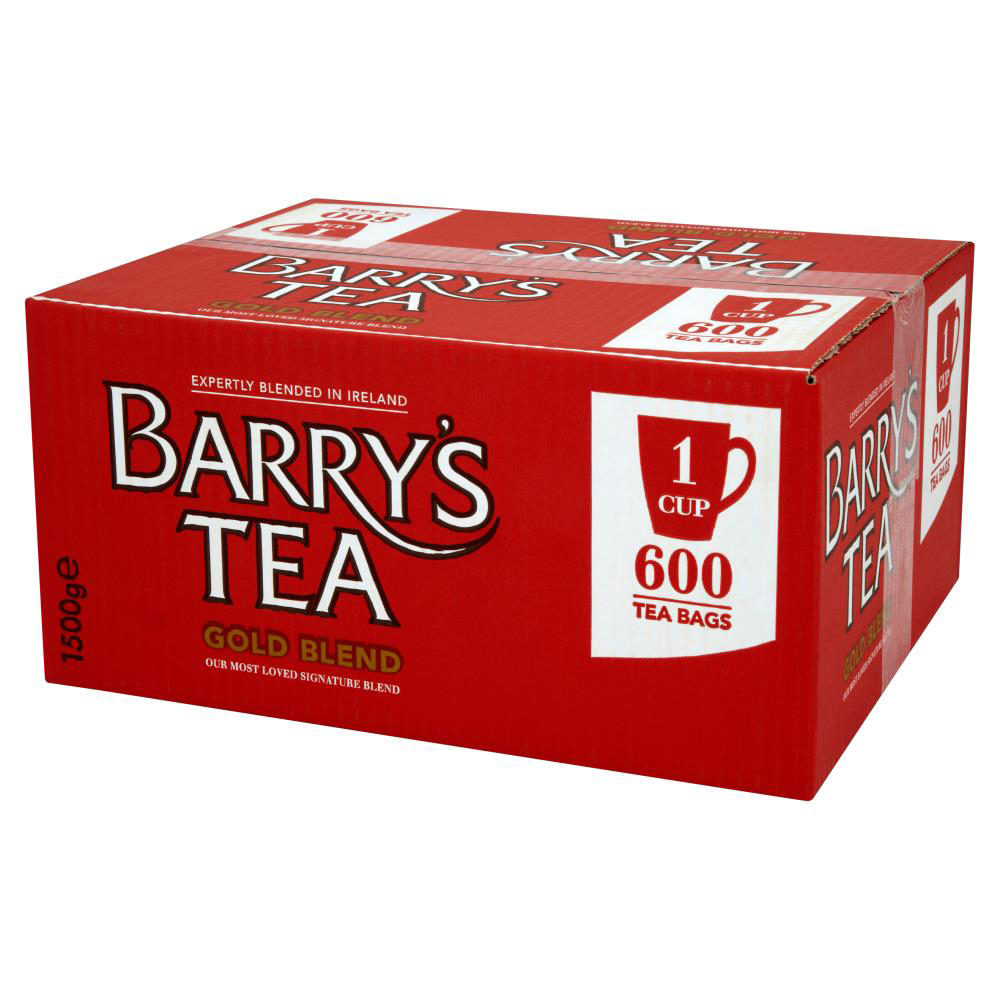 Tea bags Barrys Gold Label 1 Cup Tea Bags Pack 600