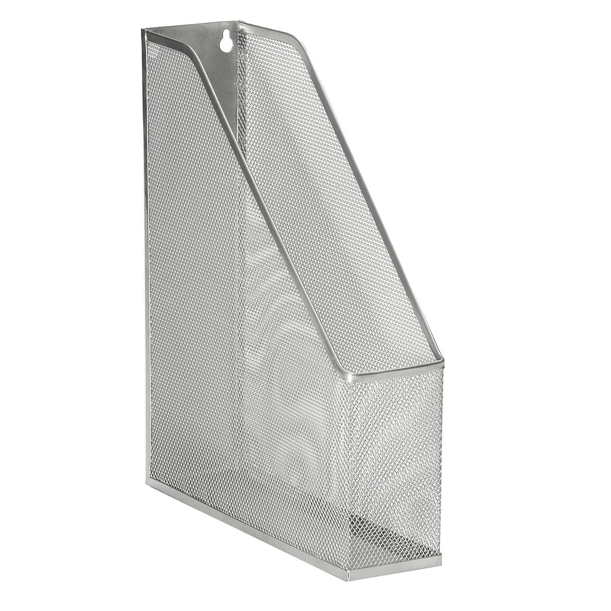Magazine Files 5 Star Office Mesh Magazine Rack Scratch Resistant with Non Marking Rubber Pads A4 Plus Silver