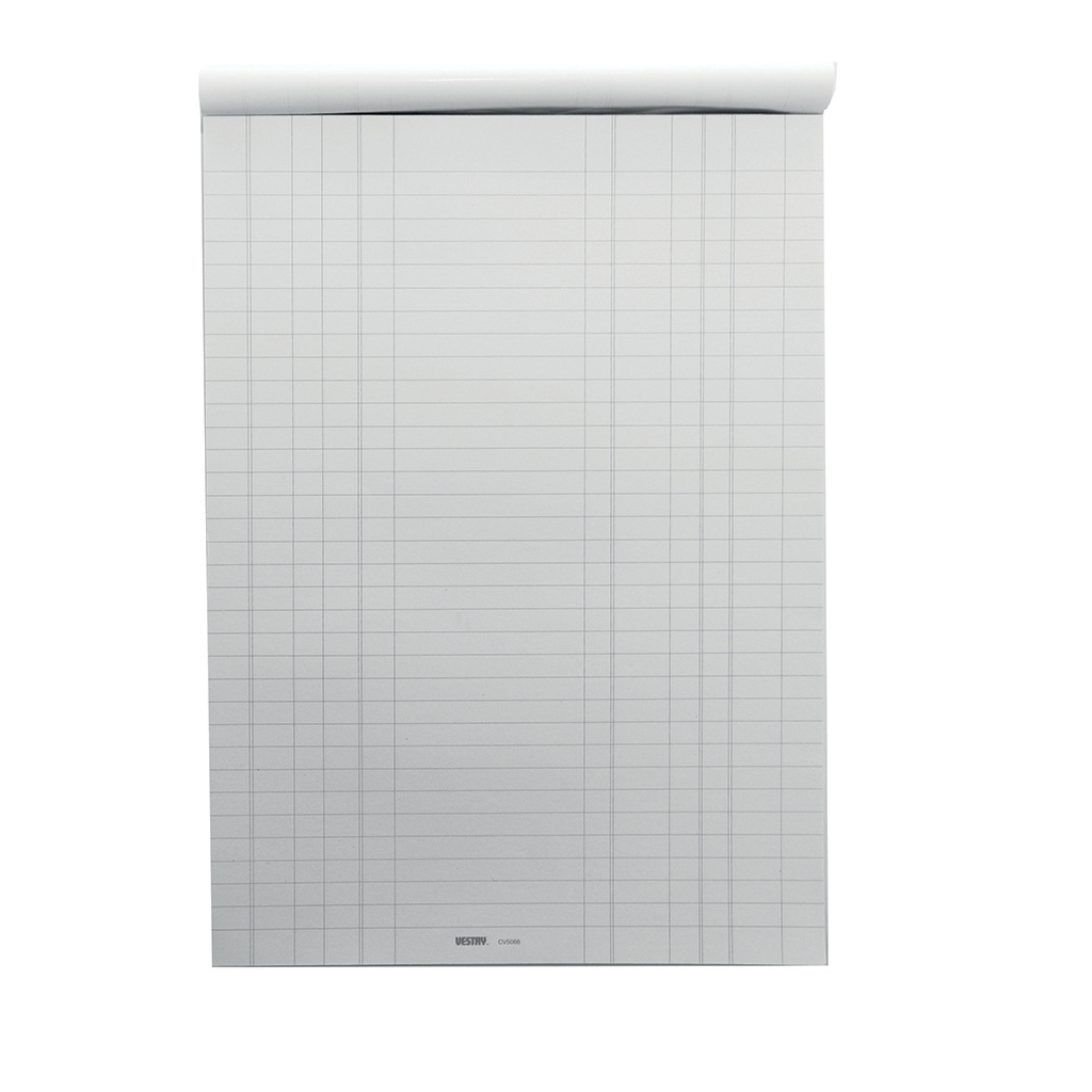 Survey Vestry Survey and Engineering Pad Double Bill Headed with Feints 60gsm 100 Sheets A4 Ref CV5066