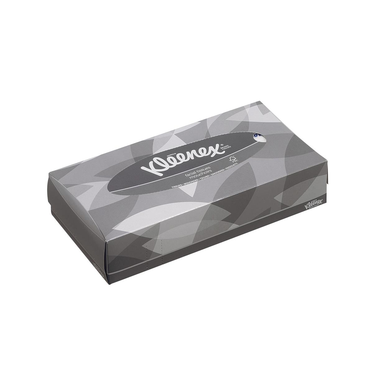 Kleenex Facial Tissues Box 2 Ply 100 Sheets White Ref 8835 21 Boxes