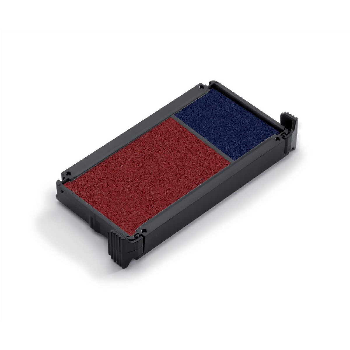 Trodat Office Printy Replacement Ink Pad 6/4912/2 Red/Blue Ref 83541 Pack 2