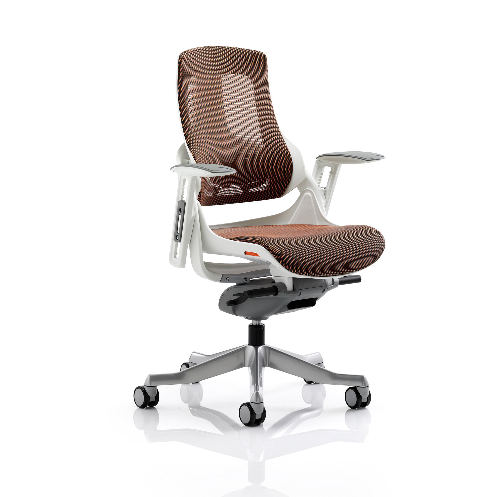 Executive seating Adroit Zure Executive Chair With Arms Mesh Mandarin Ref EX000113