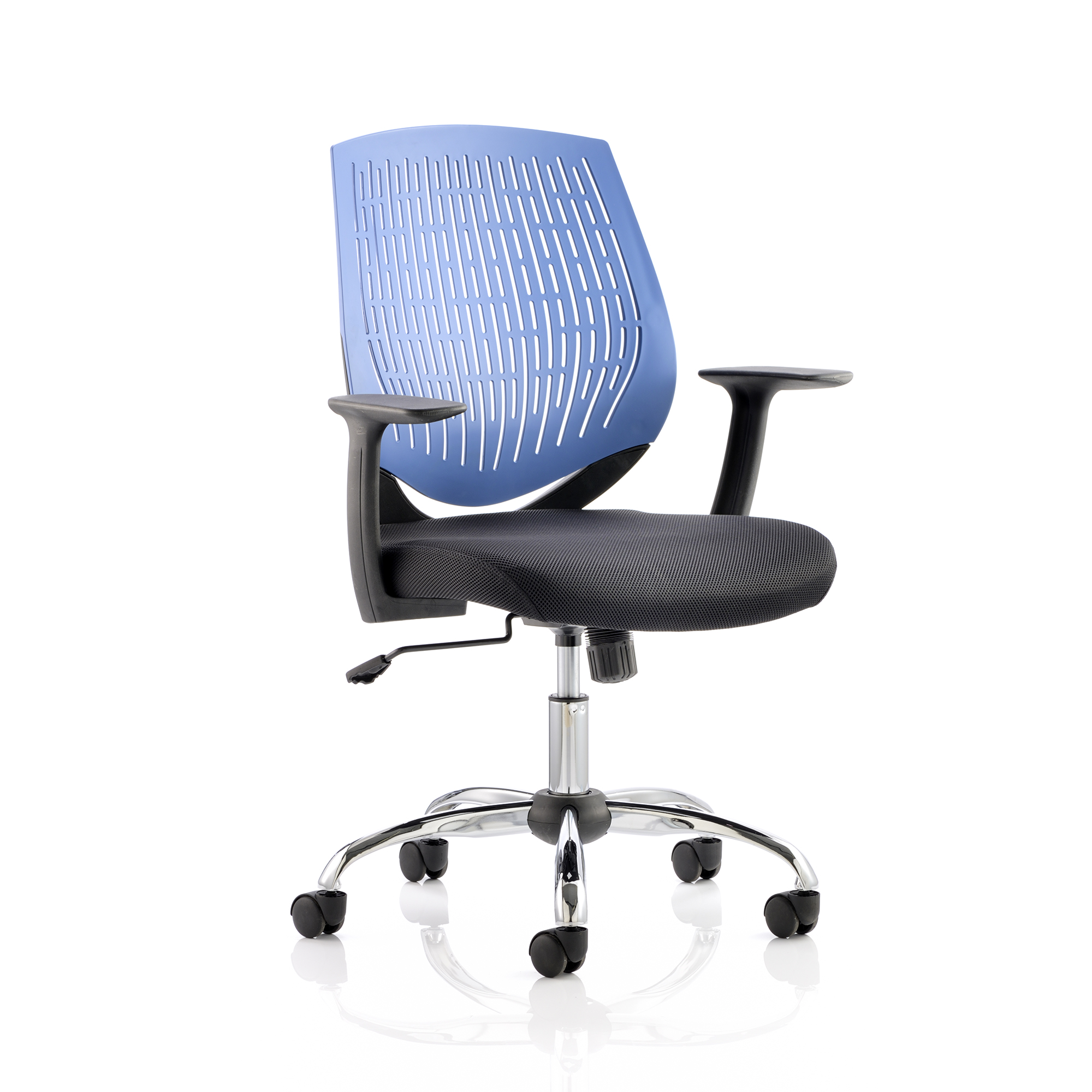 Guest seating 5 Star Office Dura Task Operator Chair With Arms Blue Ref OP000015