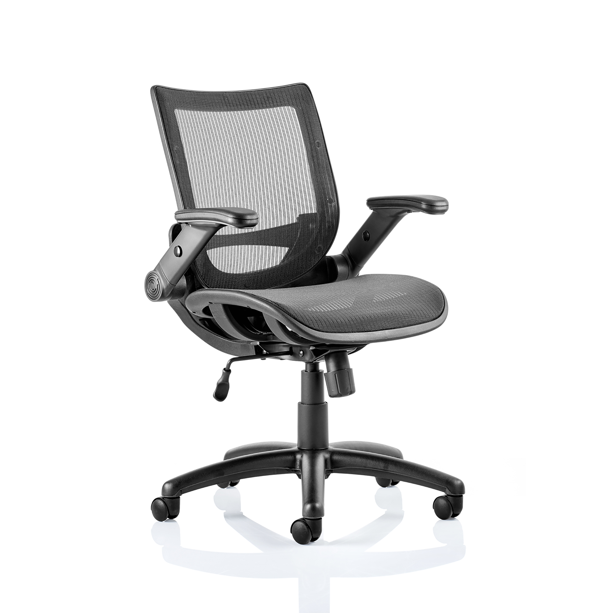Guest seating Trexus Fuller Task Operator Mesh With Folding Arms Ref OP000210