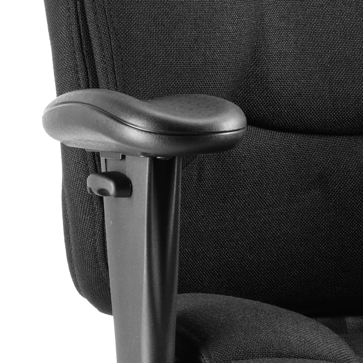 Sonix Galaxy Task Operator Chair With Arms Fabric Black Ref OP000064
