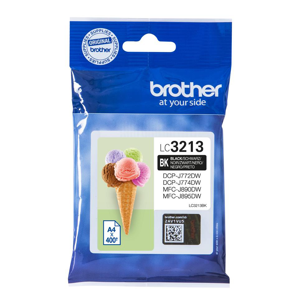 Brother LC3213BK Inkjet Cart Black