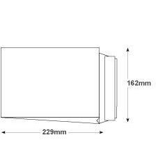 Purely Packaging Envelope P&S 120gsm C5 229x162x25mm White Ref 6000 Pack 125 *10 Day Leadtime*