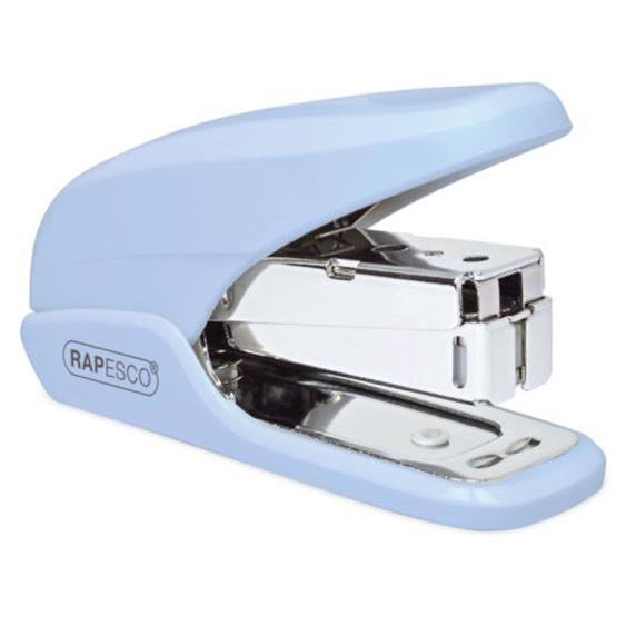 Rapesco X5 Mini Stapler Capacity 20 Sheets Blue Ref 1338