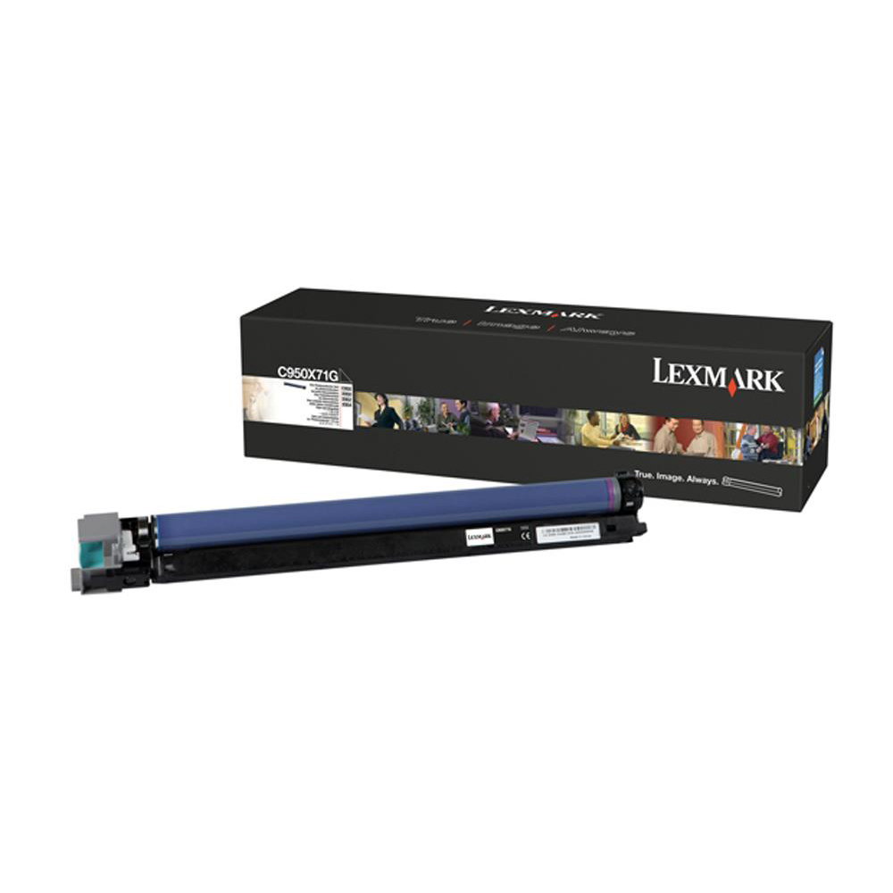 Photoconductor Unit Lexmark C950/X950/2/4 Drum Unit Page Life 115000pp Black Ref C950X71G
