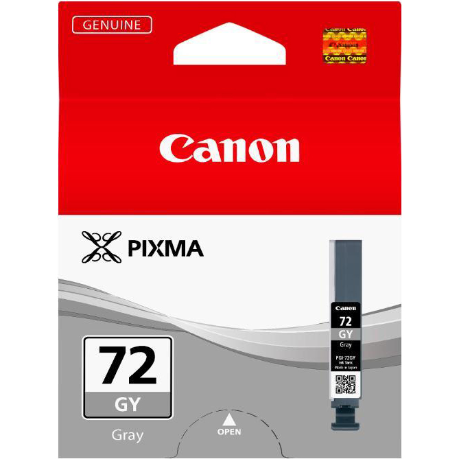 Canon PGI-72 Inkjet Cartridge Page Life 165pp 14ml Grey Ref 6409B001