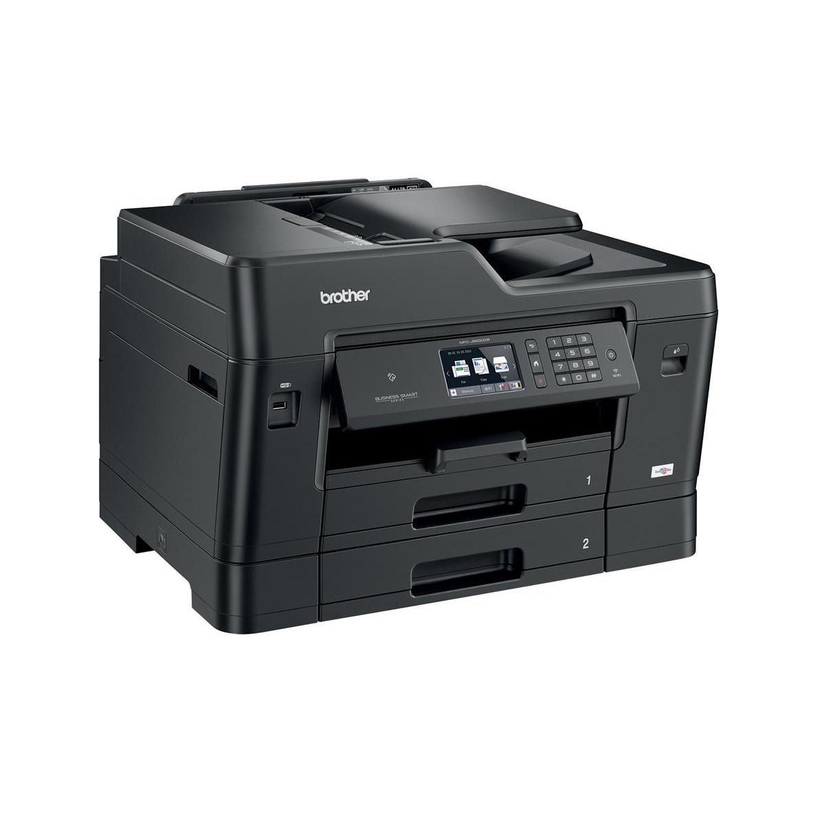 Brother Colour Multifunction A3 Inkjet Printer Ref MFCJ6930DWZU1