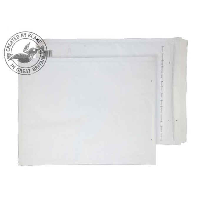 Specialty envelopes Blake Purely Packaging Padded Bubble Pocket P&S 470x350mm White Ref K/7 Pk50 *10 Day Leadtime*