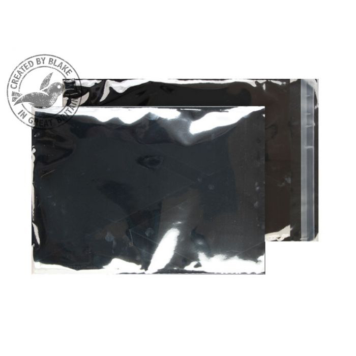 Purely Packaging Foil Pocket P&S 70 Mic 324x229mm Met Silver Ref MF912 Pack 250 *10 Day Leadtime*