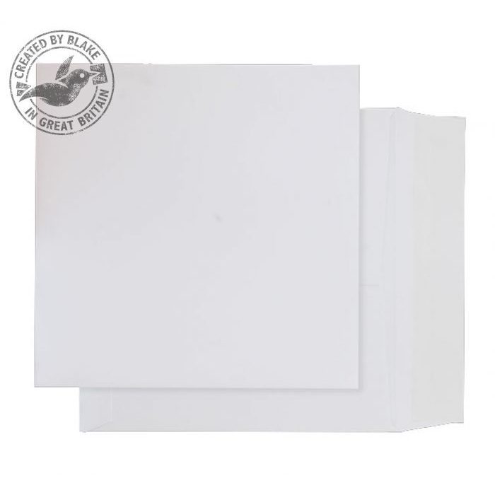 Premium Envelopes Purely Packaging Envelope Card P&S 210gsm 220x220mm White Ref OP720 Pack 250 *10 Day Leadtime*