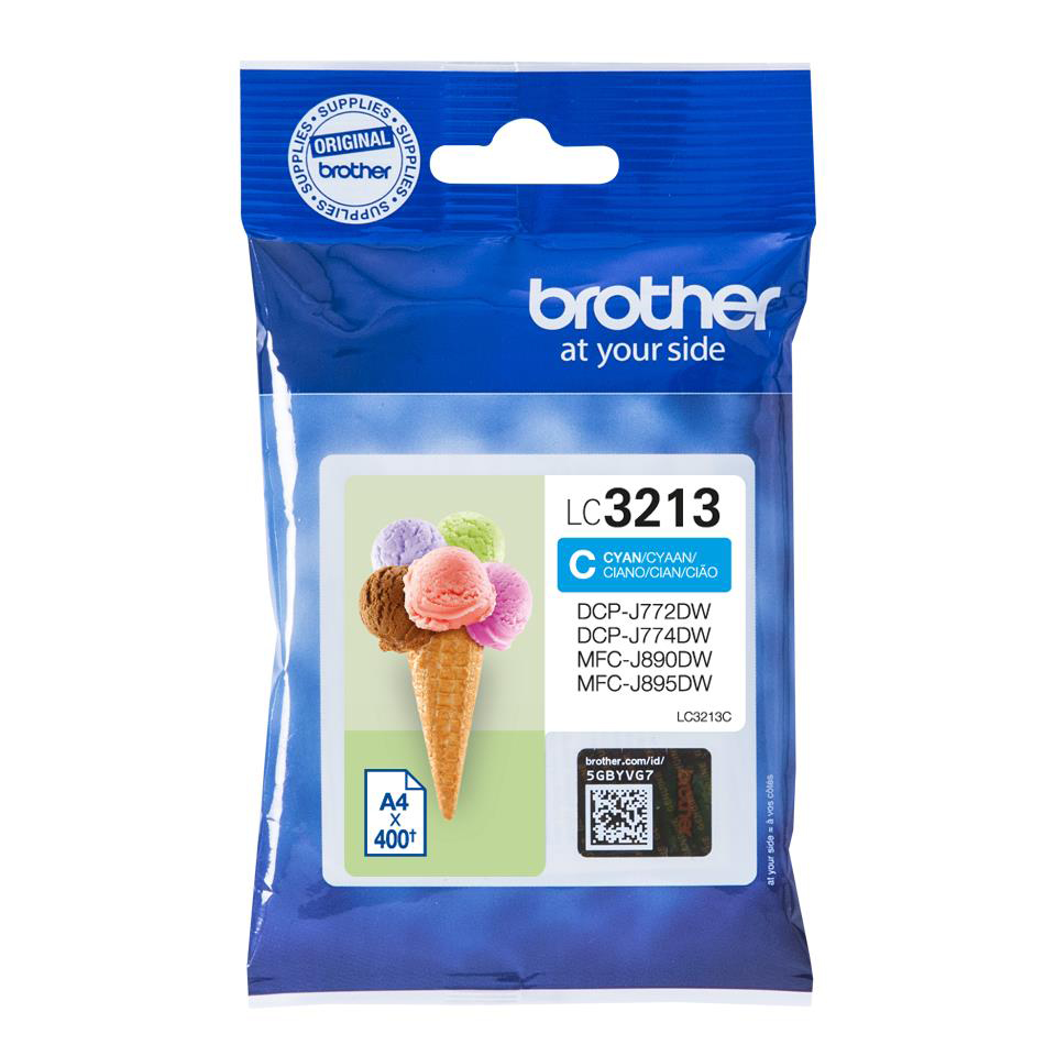 Brother LC3213C Inkjet Cart Cyan