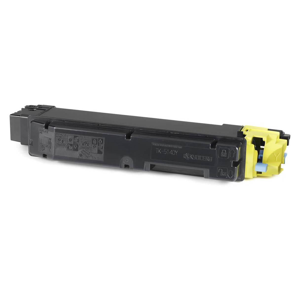 Kyocera TK-5140Y Laser Toner Cartridge Page Life 5000pp Yellow Ref 1T02NRANL0 *3to5 Day Leadtime*