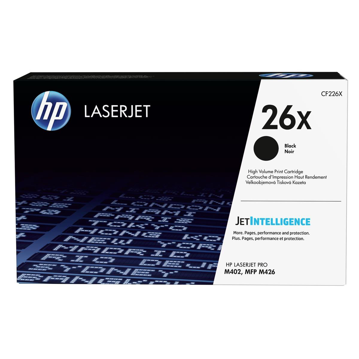 Hewlett Packard [HP] No.26X Laser Toner Cartridge High Yield Page Life 9000pp Black Ref CF226X
