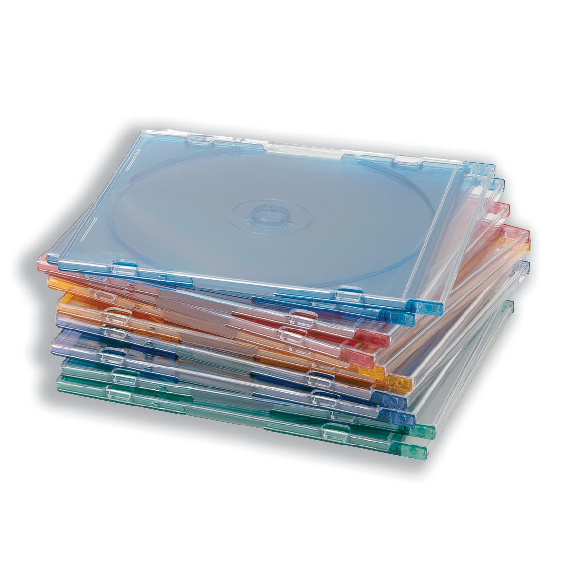 CD Slimline Jewel Case Assorted Pack 100