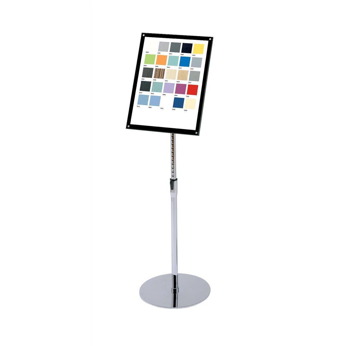 Sign Holder with Bevel Magnetic Cover Floor Standing Heavyweight A3