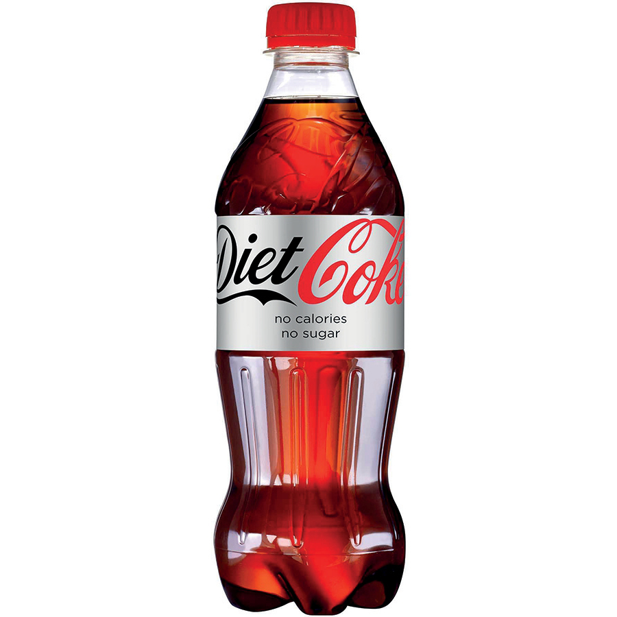 Coca-Cola Diet Soft Drink Bottle Plastic 500ml Ref 0402037 [Pack 24]