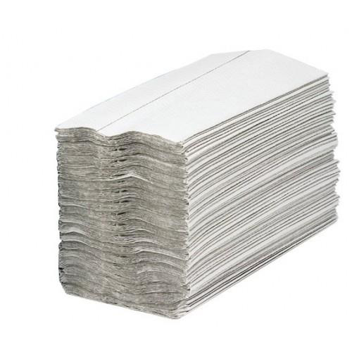 Maxima Hand Towels C-Fold 2-Ply White FSC Recycled 160 Sheets Per Sleeve Ref 1104061 [15 Sleeves]