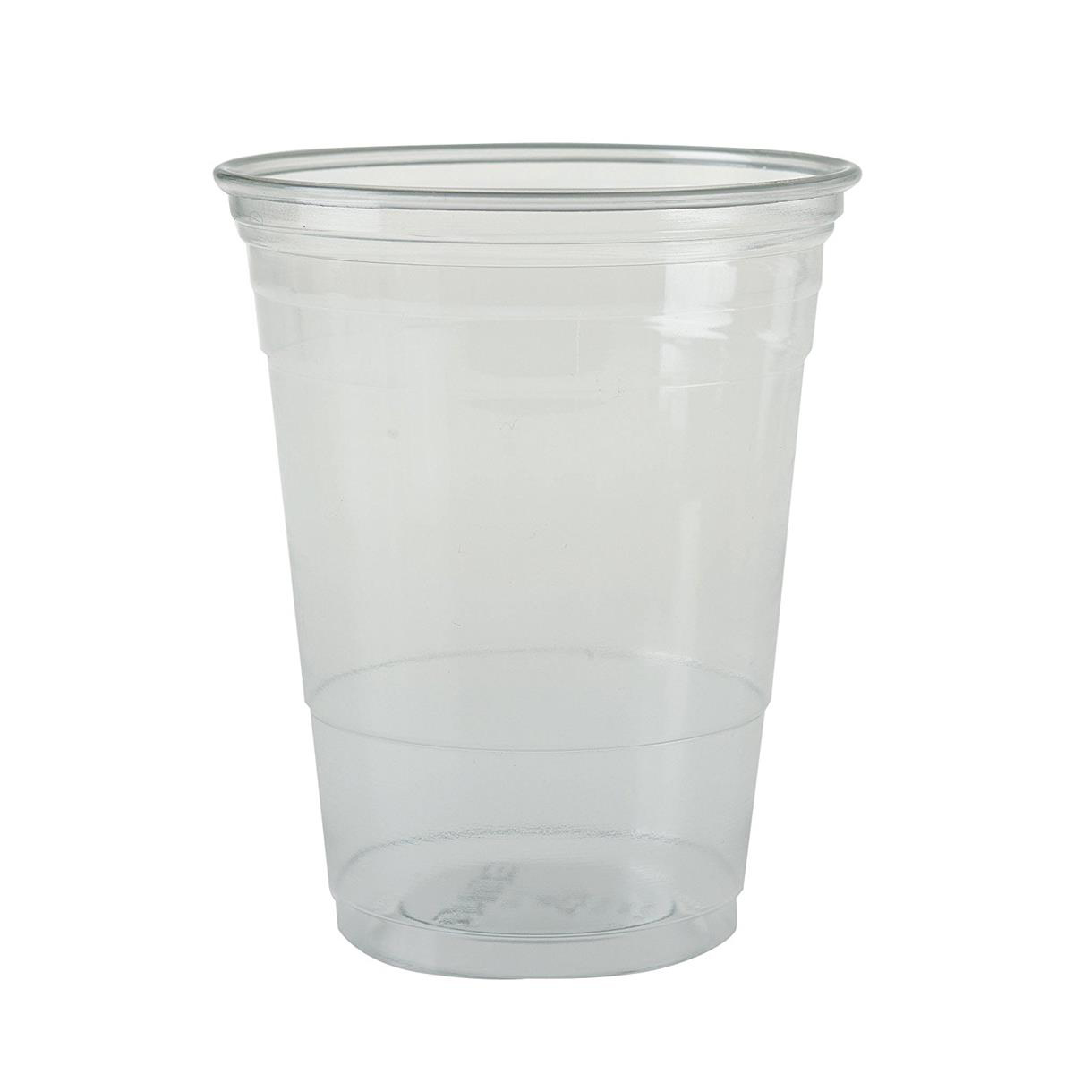 Tumbler Plastic 16oz 450ml PET Ultra Clear Ref TR16 [Pack 50]
