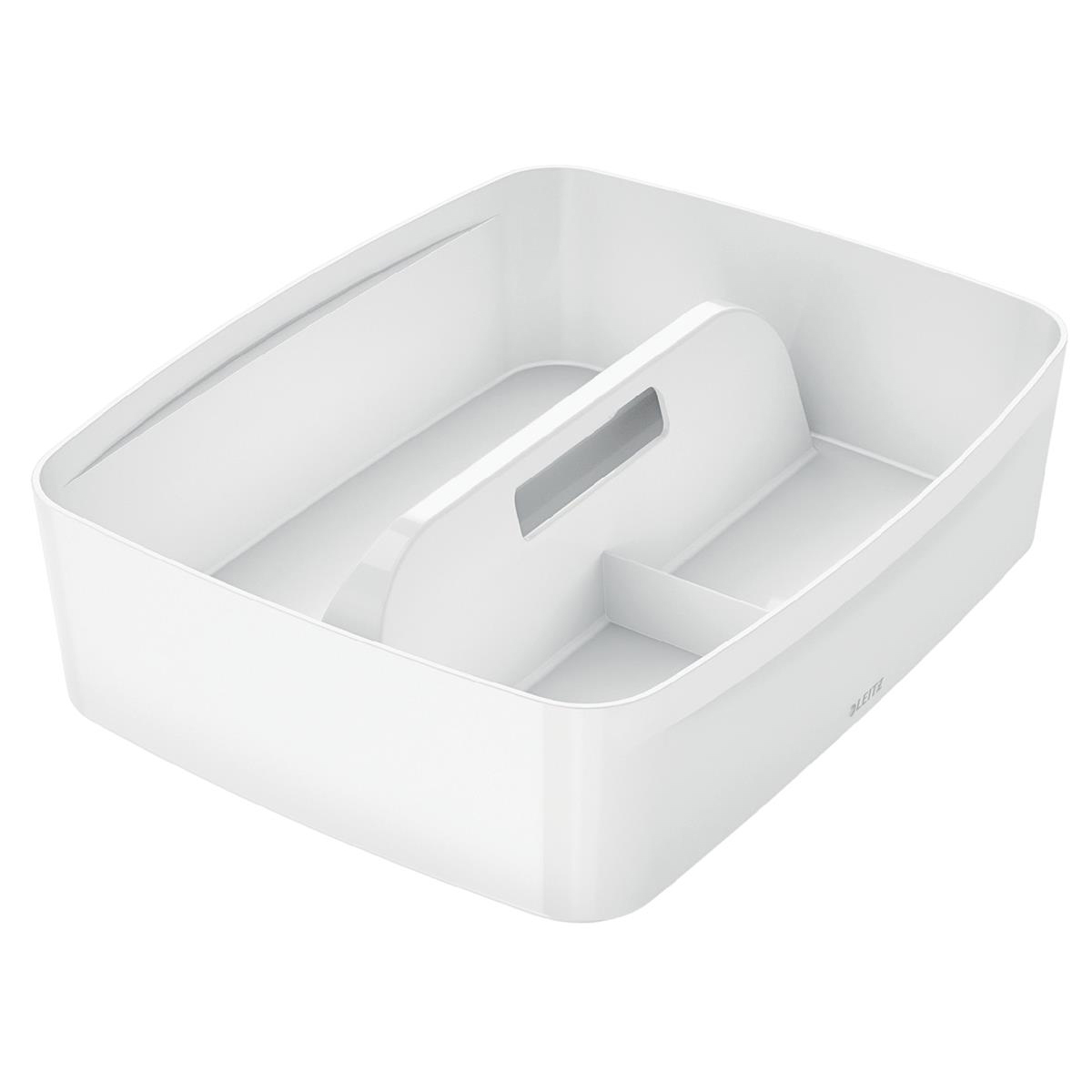 Leitz MyBox Organiser Tray with Handle Plastic(ABS) W375xD307xH101mm White Ref 53220001