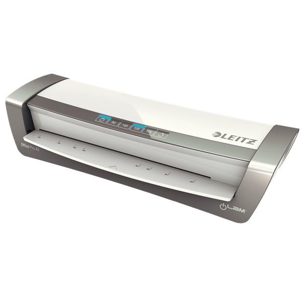 Laminating Machines Leitz iLam Office Laminator A3 Silver Ref 75181084