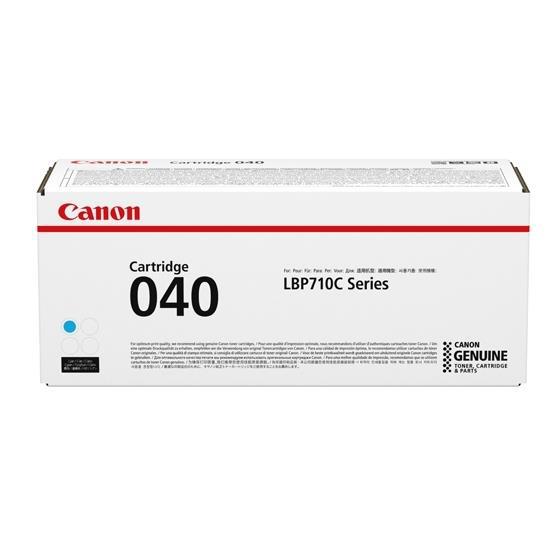 Canon 040 Laser Toner Cartridge Page Life 5400pp Cyan Ref 0458C001