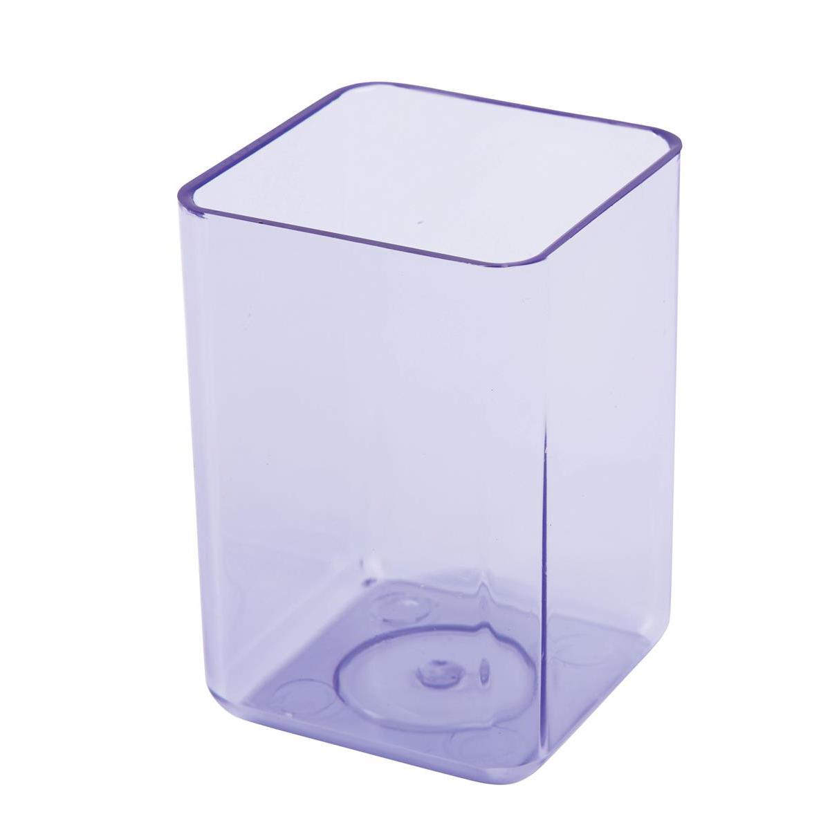 Executive Pen Tidy 1 Compartment Polystyrene Ice Purple