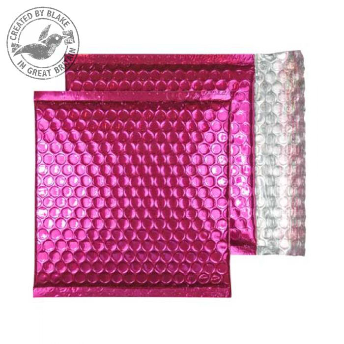 Padded Bags & Envelopes Purely Packaging Padded Envelope P&S CD Metallic Pink Ref MBP165 [Pk 200] *10 Day Leadtime*