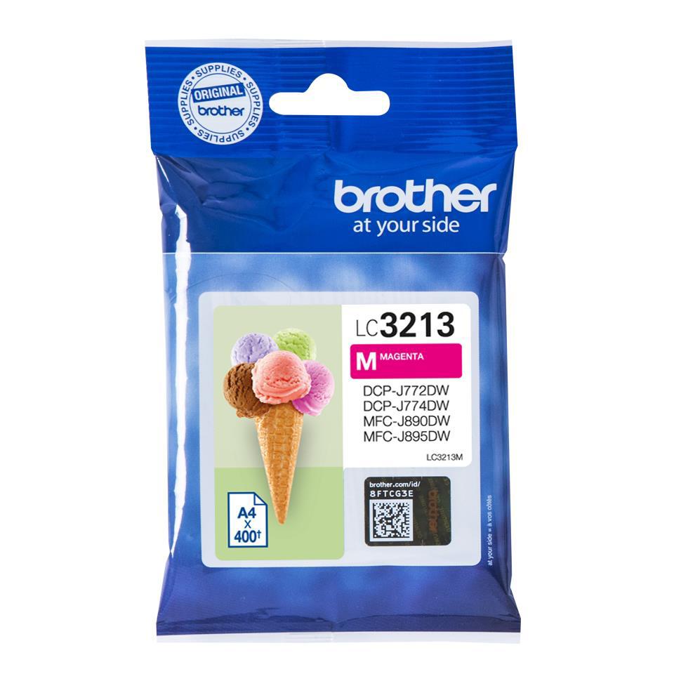 Brother LC3213M Inkjet Cart Magenta