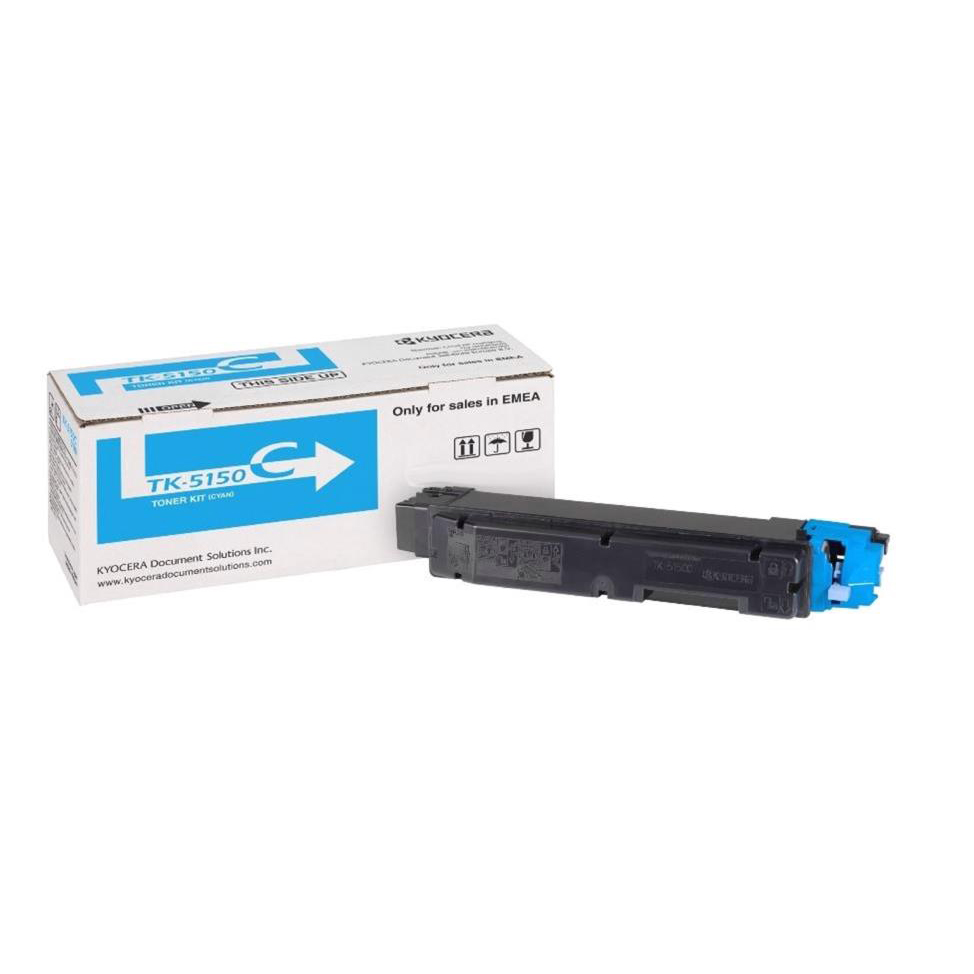 Kyocera TK-5150 Laser Toner Cartridge Page Life 10000pp Cyan Ref 1T02NSCNL0 *3to5 Day Leadtime*