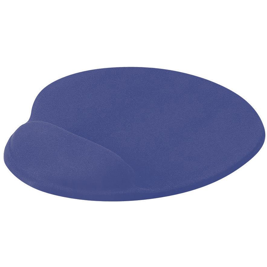 Mouse Mats Mouse Mat Ergonomic Non Slip with Gel Wrist Rest Blue