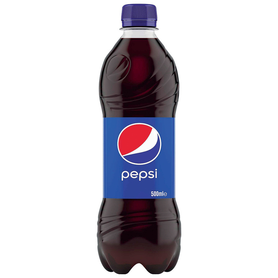 Pepsi Cola Flavour Drink Bottle Plastic 500ml Ref 205035 Pack 24