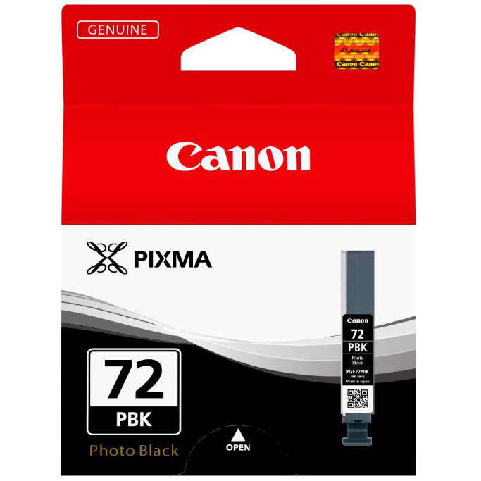 Canon PGI-72 Inkjet Cartridge Page Life 510pp 14ml Photo Black Ref 6403B001