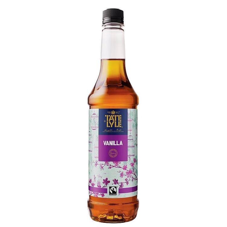 Tate and Lyle Gourmet Beverage Syrup Vanilla 750ml Ref 411843 [Pack 1]
