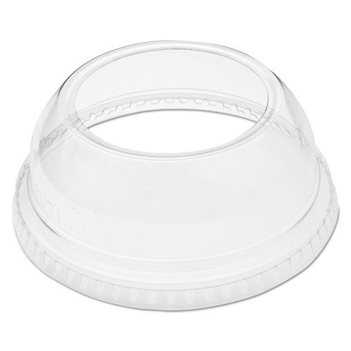 Solo Cup Lid Domed Wide Hole Clear Ref DLW662 [Pack 100]