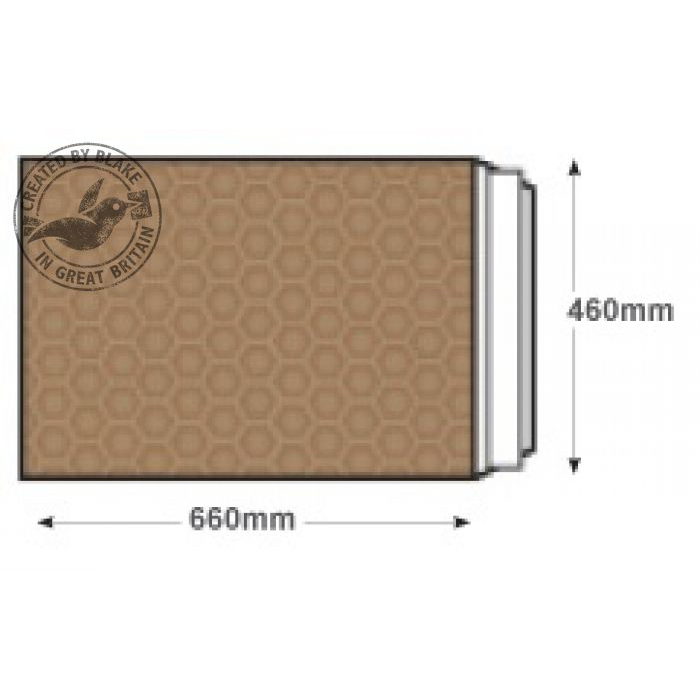 Blake Purely Packaging Padded Bubble Pocket P&S 660x460mm Gold Ref L/8 GOLD [Pk50] 10 Day Leadtime