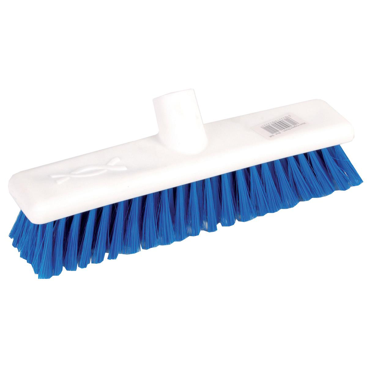 Brushes & Brooms Robert Scott & Sons Abbey Hygiene Broom 12inch Washable Soft Broom Head Blue Ref BHYRS12SBL