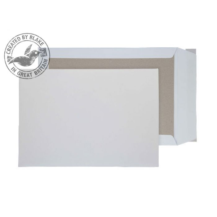 Purely Packaging Envelope Board Backed P&S 120gsm B4 White Ref 8111 Pack 125 *10 Day Leadtime*