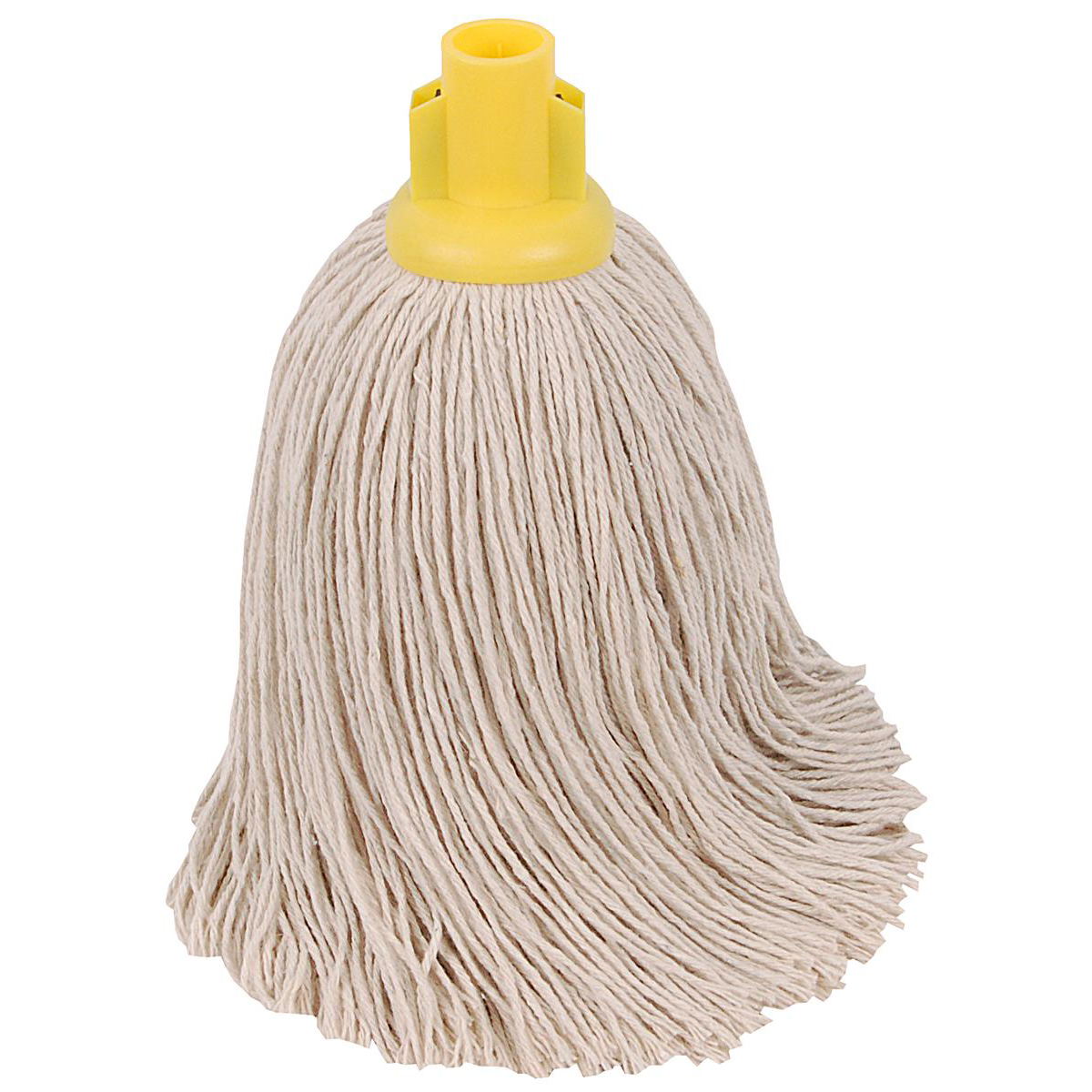 Robert Scott & Sons Twine Socket Mop for Rough Surfaces 16oz Yellow Ref 101858YELLOW Pack 10