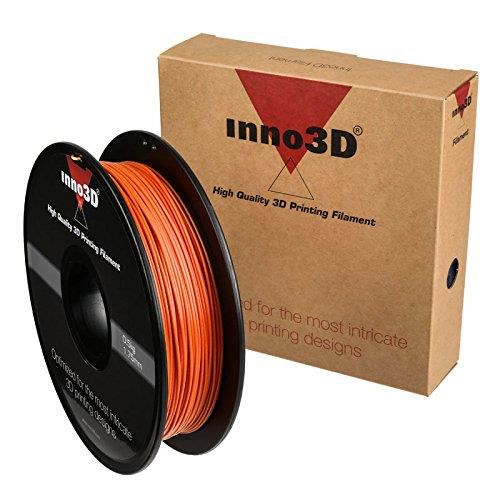 Inno3D PLA Filament for 3D Printer 1.75x200mm 0.5kg Orange Ref 3DPFP175OR05