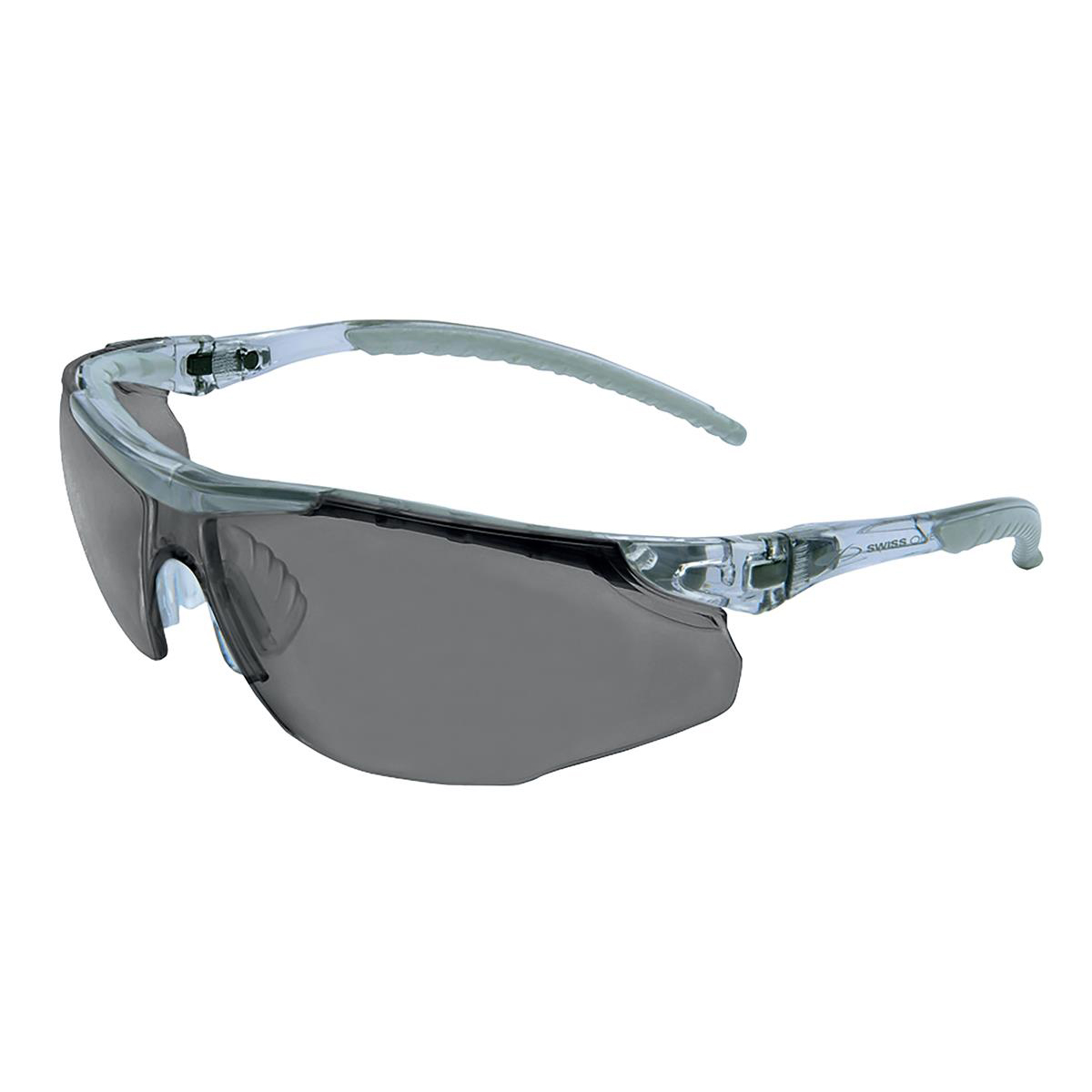 Safety glasses JSP Cayman Safety Spectacles Adjustable with Cord Smoke Ref 1CAY23S
