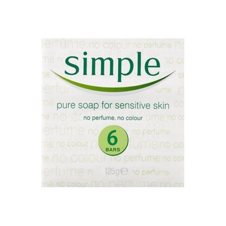 Simple Soap 6pk RY26053