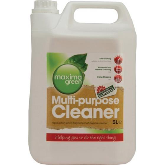 Maxima Green Multi-Purpose Cleaner 5 Litre Ref 1014106 Pack 2