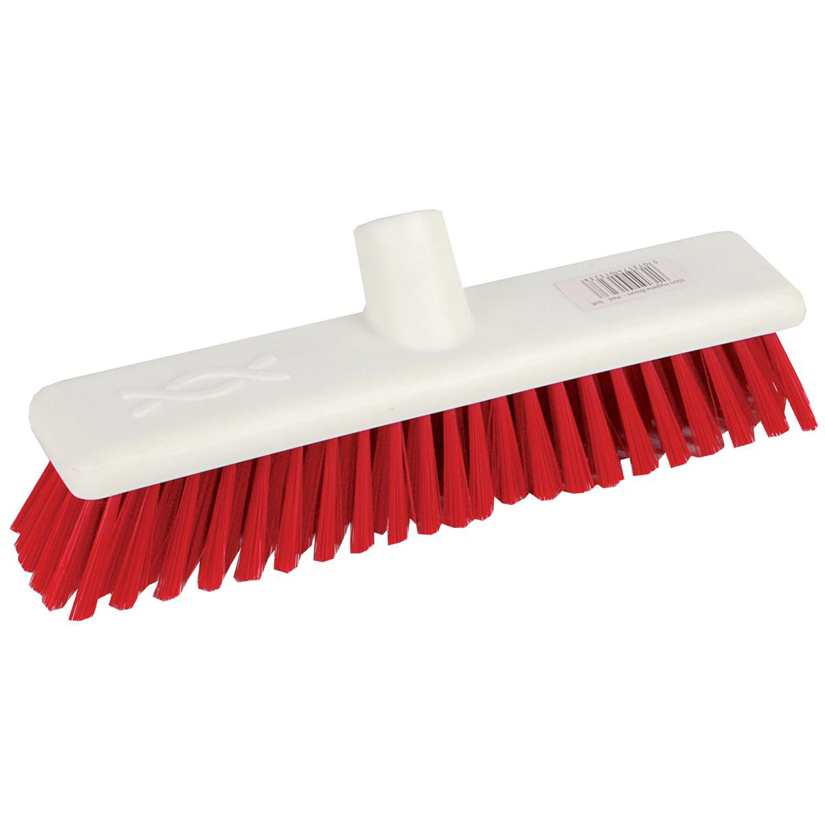 Brushes & Brooms Robert Scott & Sons Abbey Hygiene Broom 12inch Washable Soft Broom Head Red Ref BHYRS12SR